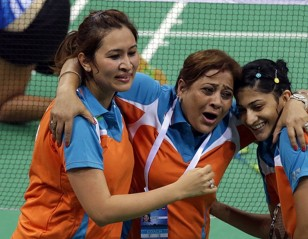 Li-Ning BWF Thomas & Uber Cup Finals 2014 – Day 5 – Session 2: Indian Women in Semi-finals