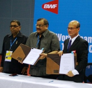 BWF and BAI Ink Deal for Thomas/Uber Cups 2014