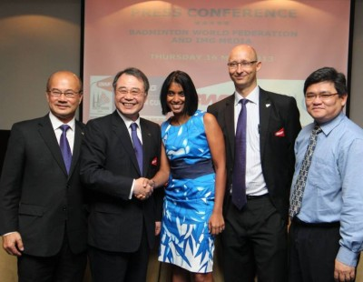 BWF and IMG in Landmark Media-Rights Deal