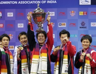 Japan Face French Obstacle in Thomas Cup Opener