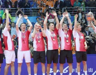 Denmark Crowned Kings of the World: TOTAL BWF Thomas & Uber Cup Finals 2016