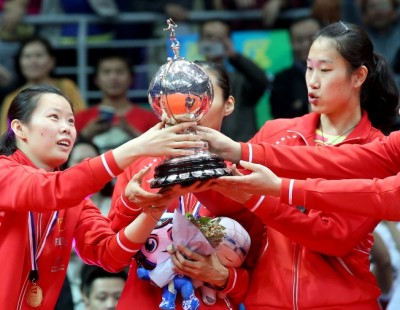 Title No.14 for China – TOTAL BWF Thomas & Uber Cup Finals 2016