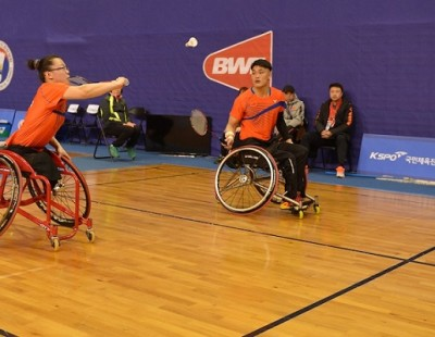 Para badminton Coaching Video Clips