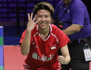Women's Shuttler of 2010s: Fans Go for Natsir