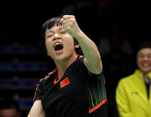 China Feature in Opening Uber Cup Tie